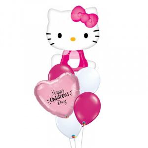 Hello Kitty Personalised Balloon Bouquet
