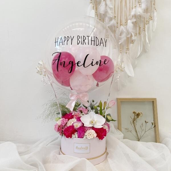 Pretty In Pink Hot Air Balloon - Regular