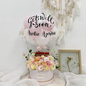 Birdnest Floral Hot Air Balloon (Regular Size)
