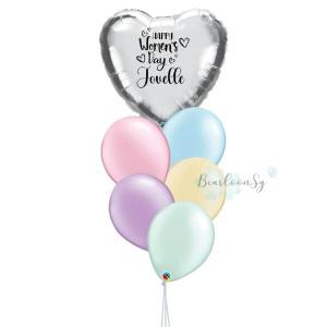 [Balloon Bouquet] – I Heart You – [Rainbow]