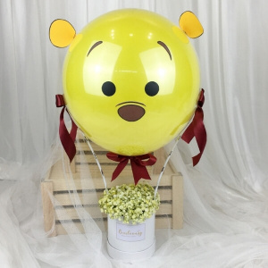 3D Winnie Hot Air Balloon (Petite)