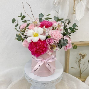 Pretty In Pink Affection Bloom Box (Petite) - 1
