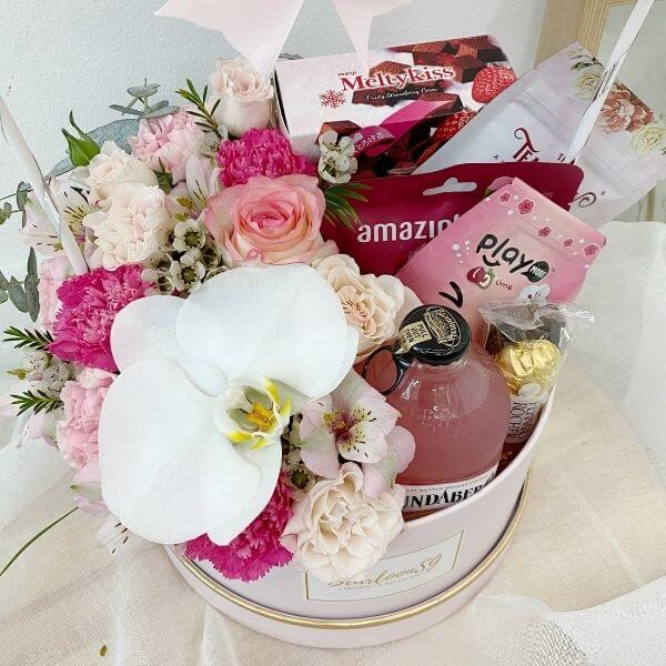 Flower x Snack Box (Pink)