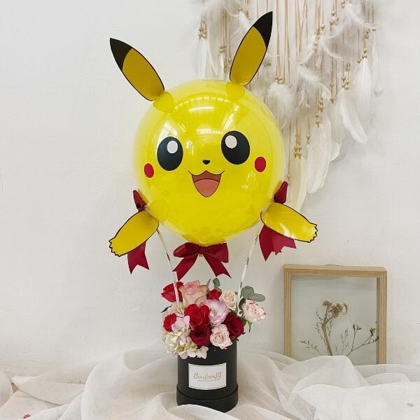 3D inspired Pikachu Hot air balloon