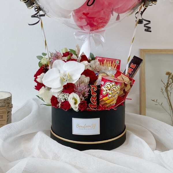 Flower x Snack Box (Red)