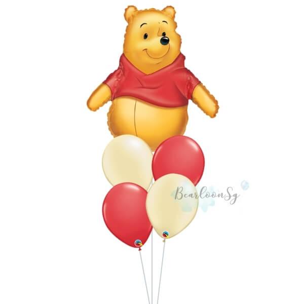 [Supershape] Winnie The Pooh Balloon Bouquet