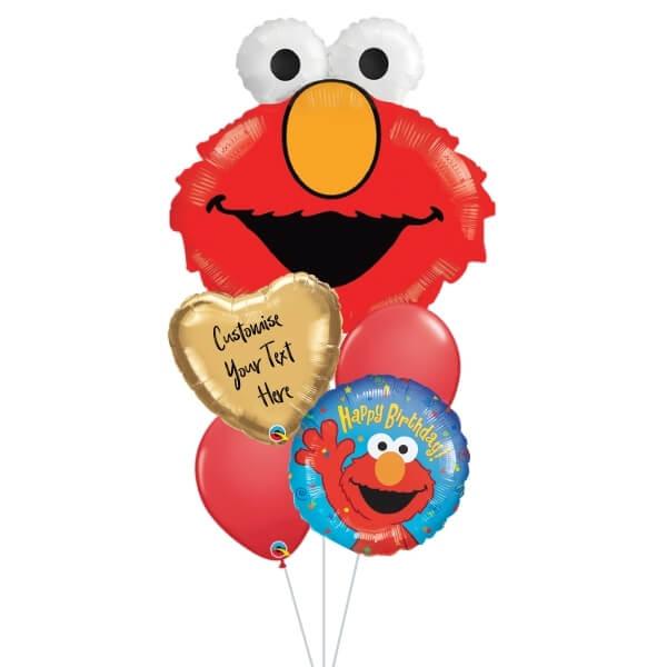 [Supershape] Elmo Birthday Balloon Bouquet