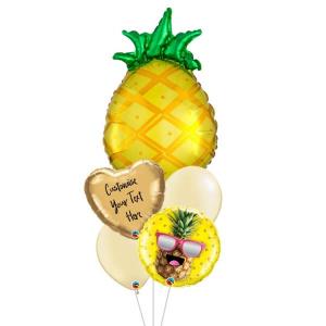[Supershape] Tropical Pineapple Balloon Bouquet Pineapple