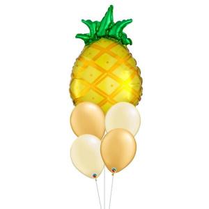 Tropical Pineapple Balloon Bouquet