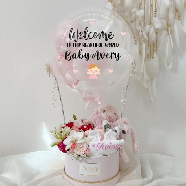 Flower x Newborn Baby Girl