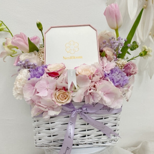 Premium Nest bloom Floral basket