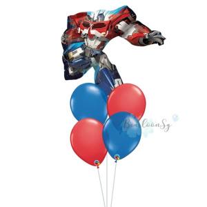 [Supershape] Optimus Prime Balloon Bouquet