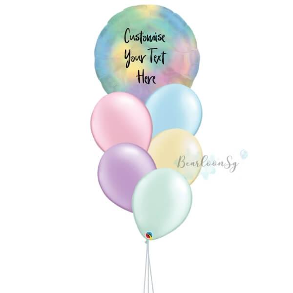 [Balloon Bouquet] –You're My World – [Rainbow]