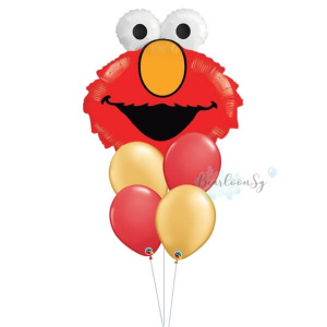 [Supershape] Elmo Balloon Bouquet