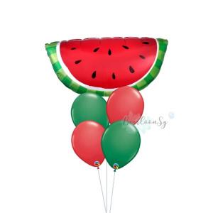 [Supershape] Watermelon Balloon Bouquet