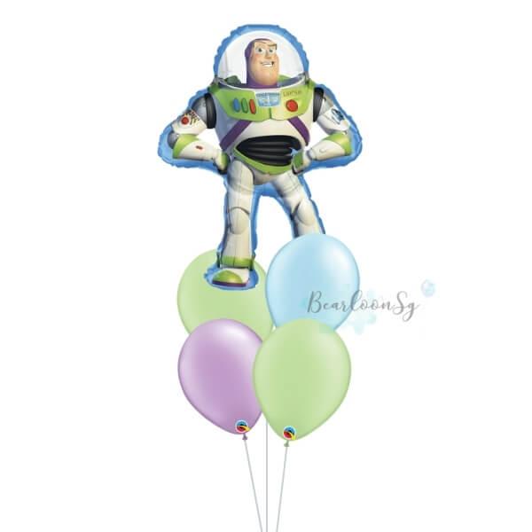 [Supershape] Buzz Lightyear Balloon Bouquet