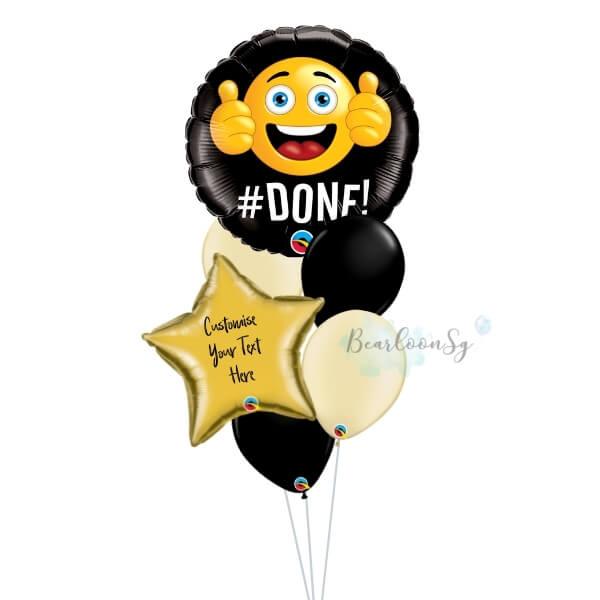 Done Grad Balloon Bouquet