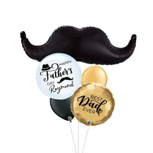 [Father's Day] Mr Gentleman Balloon Bouquet