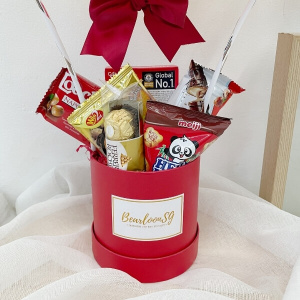 Red Snack Box Hot Air Balloon