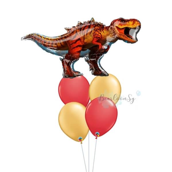 [Supershape] T-Rex Balloon Bouquet