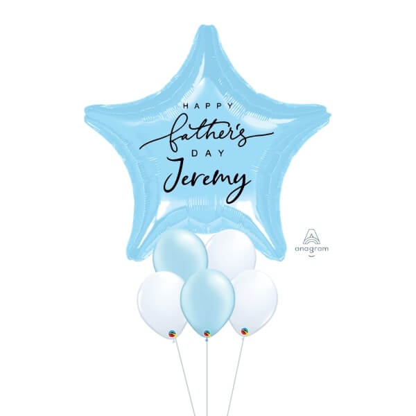 [Father's Day] Magnificent Star – [Blue & White]
