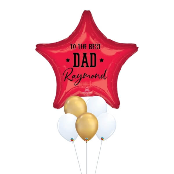[Father's Day] Magnificent Star – [Red & Gold]