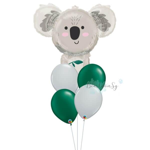 [Supershape] Koala Bear Balloon Bouquet