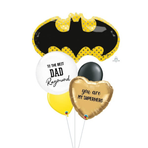 [Father's Day] Batman Balloon Bouquet