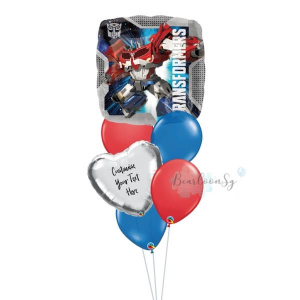 Transformers Animated Balloon Bouquet