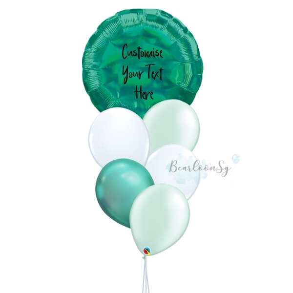 You're My World – [Iridescent Green]