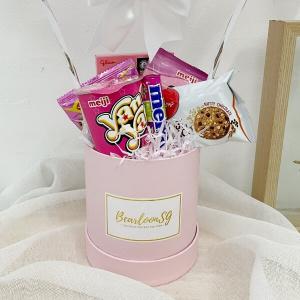Pink Snack Box Hot air balloon
