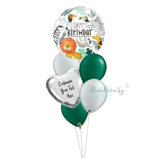 Get Wild Birthday Balloon Bouquet