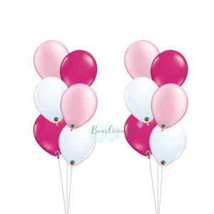 Metallic Colour Latex Balloon Bouquet
