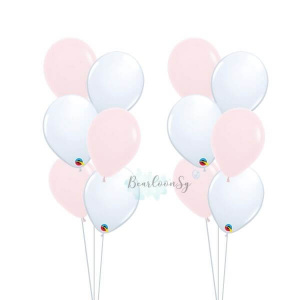 Standard Colour Latex Balloon Bouquet