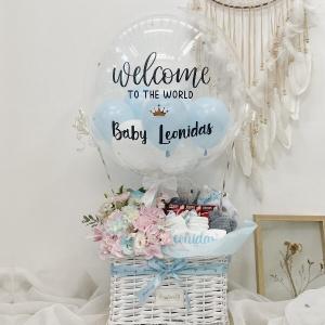 [Premium] Flower x Newborn Baby Boy