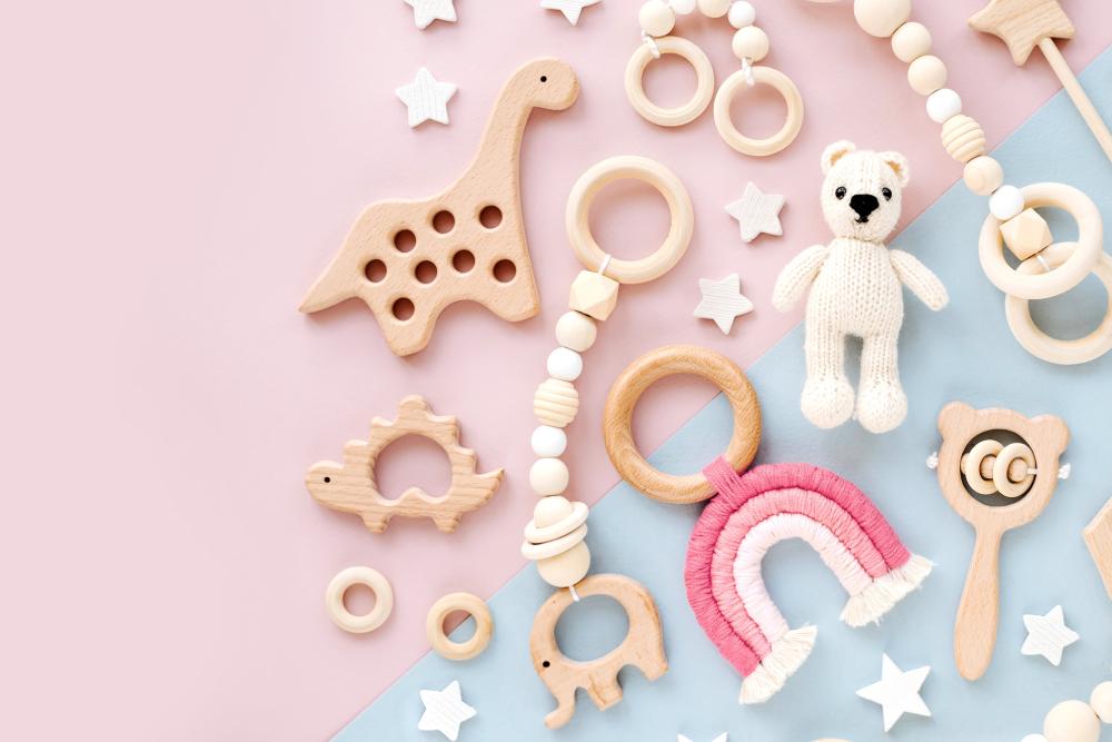 newborn rattles and toys