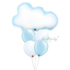 Fluffy Cloud Balloon Bouquet