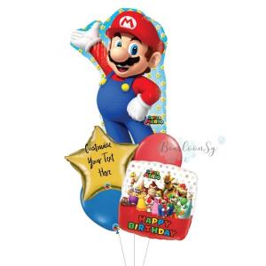 [Supershape] Super Mario Birthday Balloon Bouquet