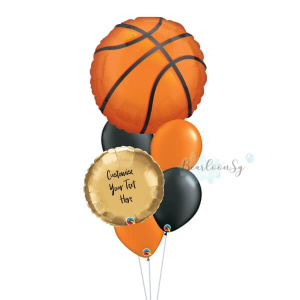 Basketball Balloon Bouquet