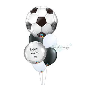 Soccer Ball Balloon Bouquet