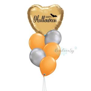 [Halloween] I Heart You - Gold